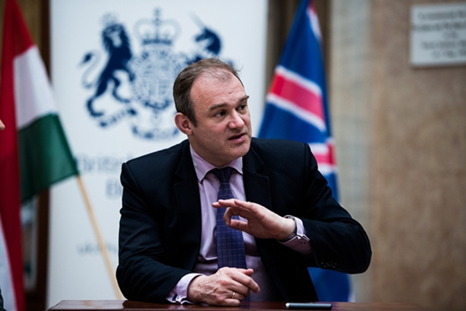 Edward Davey (photo: Ákos Stiller)