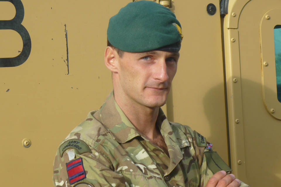 Captain Richard Holloway (All rights reserved.)