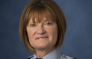Air Vice-Marshal Sue Gray [Picture: Andrew Linnett, Crown copyright]