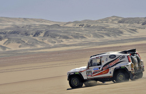 A Race2Recovery Wildcat rally-raid vehicle in action (library image) [Picture: DPPI]
