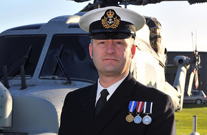 Warrant Officer Barry Firth [Picture: Crown copyright]