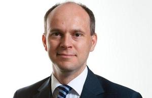 Clive Maxwell, the new Director General of DECC's Consumers and Households Group