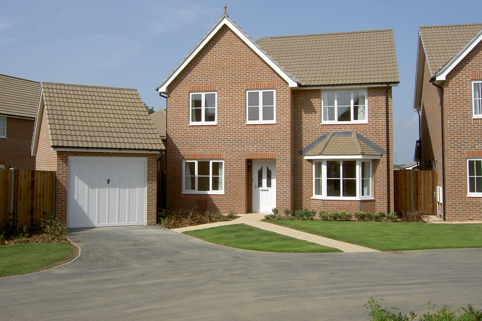 A new-build service family home