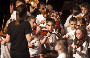 Big Noise Raploch youth orquestra