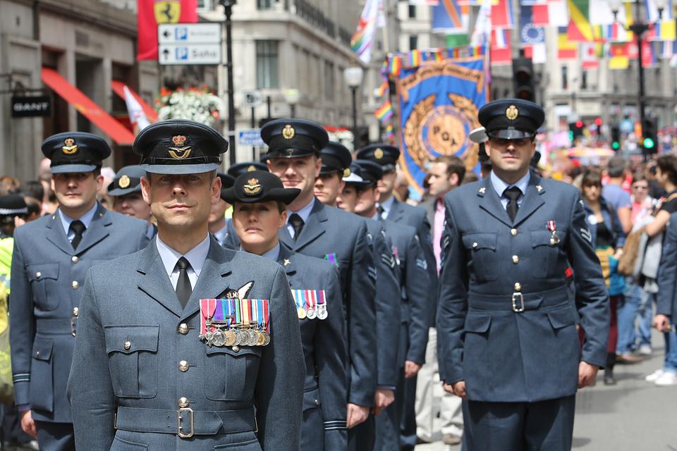 Members of the Royal Air Force