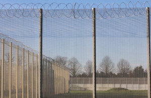 Image of prison fence