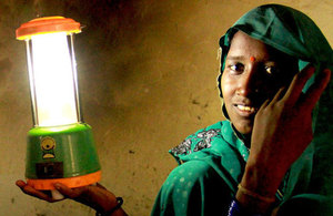 Gudiya Baiga from Madhya Pradesh in India has become a successful solar entrepreneur by bringing clean energy to her community.