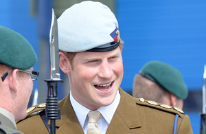 His Royal Highness Prince Harry (library image) [Picture: Chief Petty Officer Airman (Photographer) Rob Harding, Crown copyright]
