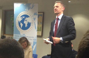 Deputy Ambassador Patrick Davies discusses his career and UK foreign policy priorities.