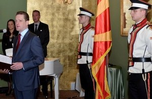 Presidential Reception for Diplomatic Corps in Macedonia (photo credit: MIA)