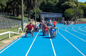 80 disabled children participate in the activities