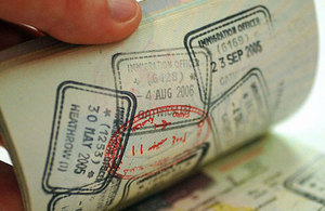 Change to uk visa application