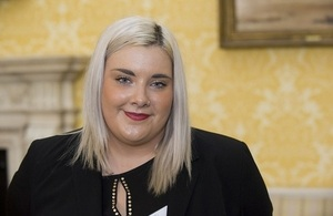 Cora Gordon, civil service apprentice working for the Crown Prosecution Service.
