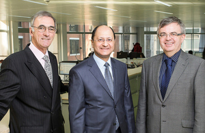 Shailesh Vara opening new Legal Services Board offices
