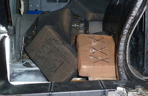 Border Force officers in Dover find cocaine hidden in a lorry