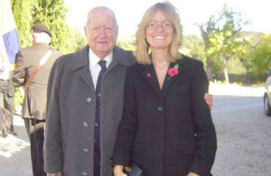 Mr. Pearce de Azevedo and Ambassador Jill Gallard