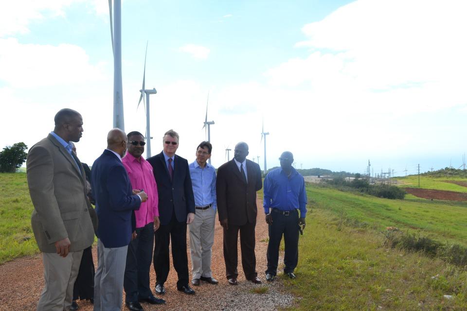 turbines , men