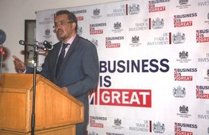 Dr Tedros Adhanom, Minister of Foreign Affairs