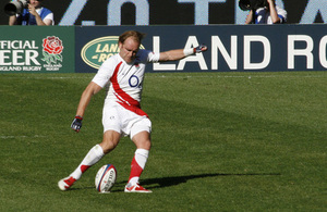 England Rugby Union player - Credits: chrissmallwood, Creative Commons License