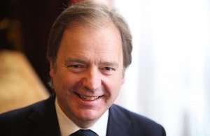 UK Foreign Office Minister for Asia Hugo Swire