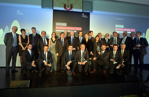 UK-Italy Business Awards, Milan 2014