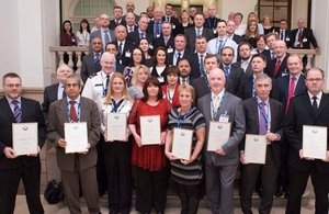 Border Force award winners