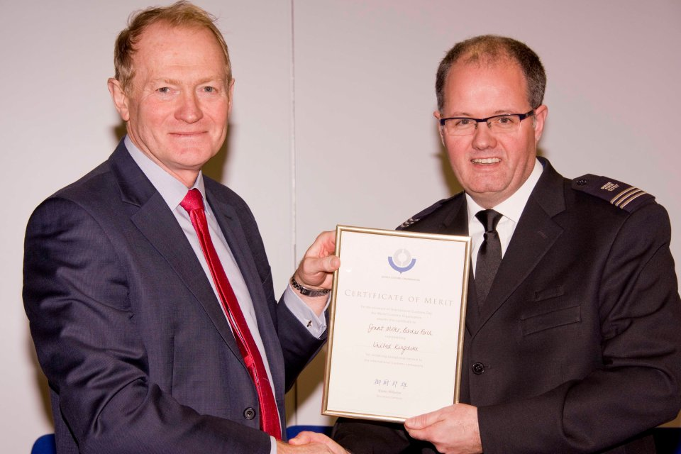 Border Force DG and award winner