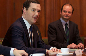 Chancellor talks to UK-based scientists