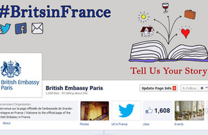 The British Embassy Facebook page