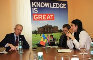 David Lidington visits Moldova