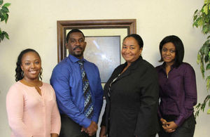 Picture shows (LtR): Dr. Alicia Malcolm; Dr. Jameika Harvey; Dr. Nadia Astwood; Dr. Shandey Malcolm; absent Dr. Terese Maitland.