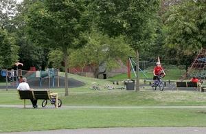 Photo of a public park