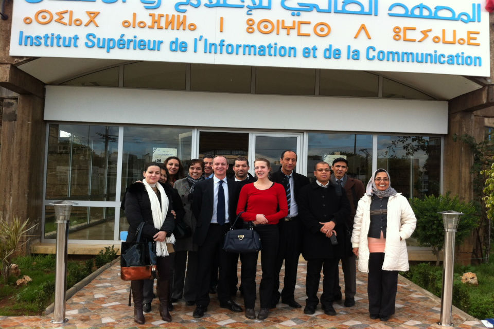 Communications Training in Morocco