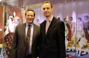 Ed Vaizey with PaulRamsbottom