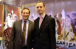 Ed Vaizey with PaulRamsbottom