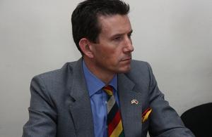 Lieutenant Colonel Nick Wilkes