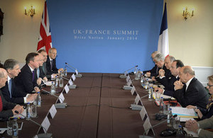 UK-France Summit 2014
