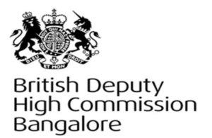 British high commission Bangalore logo