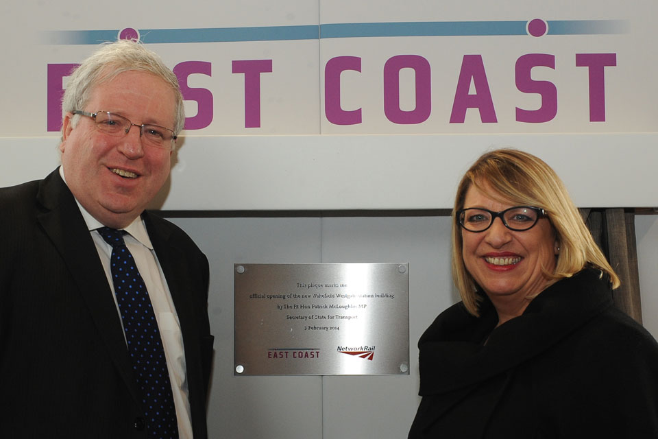 Opening of the Westgate station