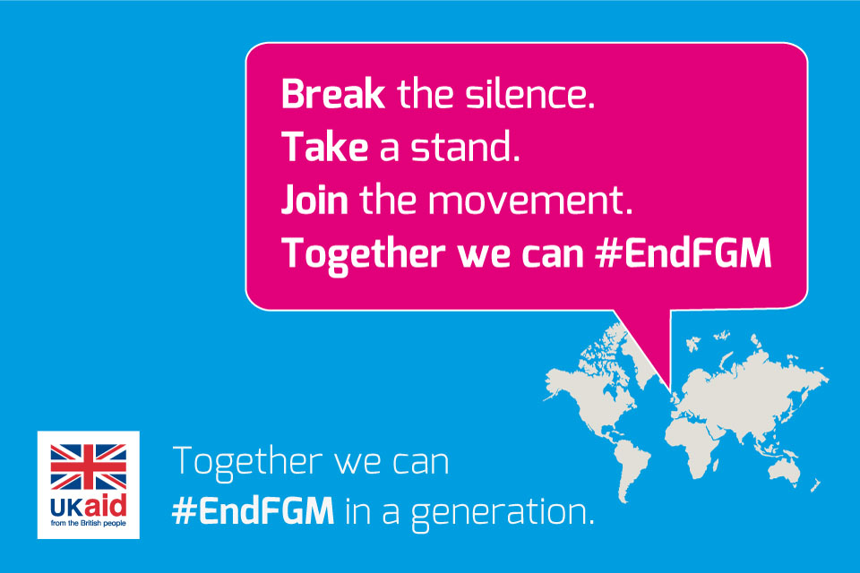 Together we can end FGM/C in a generation.