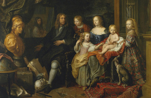 "Charles Le Brun's ""Portrait of Everhard Jabach and family"