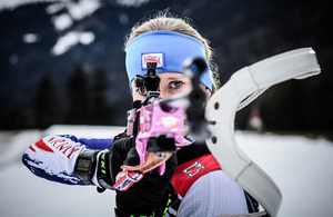 Team GB biathlete Corporal Amanda Lightfoot [Picture: Copyright Marcel Laponder]