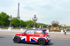 GREAT Mini Cooper in Paris © Jean-Francois DEROUBAIX