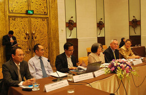 UK collaboration with two Thai agencies on global warming forum