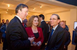 British Ambassador Ian Cliff attending The HALO Trust event
