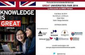 Invitation to the Great Education Fair 2014