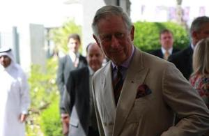 HRH Prince of Wales visits Qatar