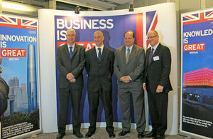Launch of the British Business Centre at the British Chamber of Commerce Thailand