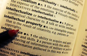 Dictionary entry for intellectual property