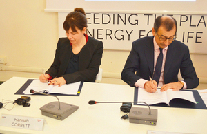 UK Expo 2015 Milano Official Signing